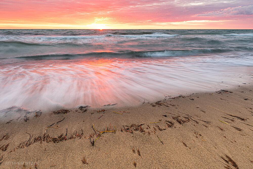 Sommerabend am Dierhäger Strand